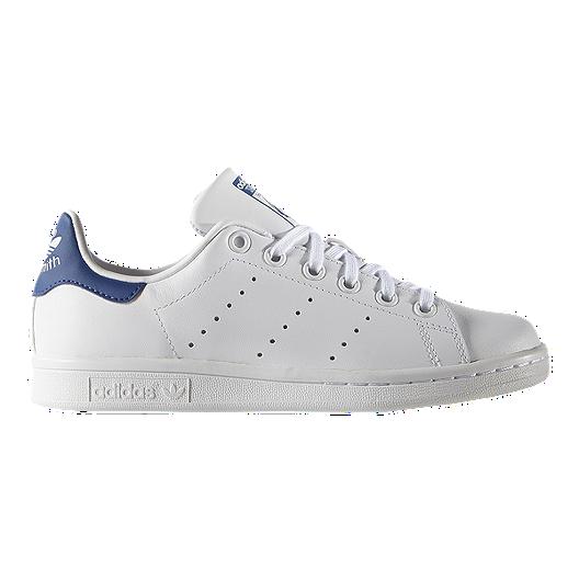 get cheap 8a21b ee89a adidas Kids  Stan Smith Grade School Shoes - White Blue   Sport Chek