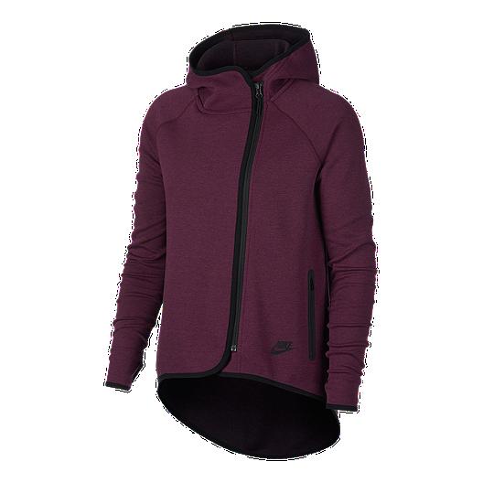 2666a10a569f Nike Sportswear Women s Tech Fleece Cape Hoodie
