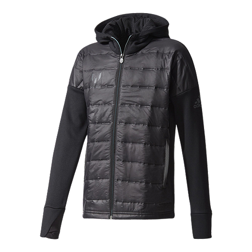fea06aa5 adidas Boys' Soccer Messi Padded Full Zip Hooded Jacket | Sport Chek