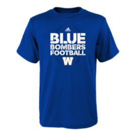 Winnipeg Blue Bombers Kids' Sideline Mantra T Shirt