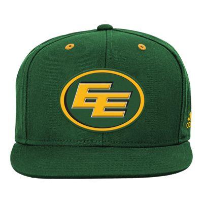 Edmonton Eskimos Little Kids' Team Flat Visor Snapback Hat