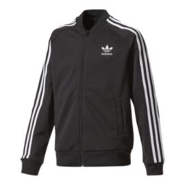 adidas Boys' Original Superstar Full Zip Track Jacket