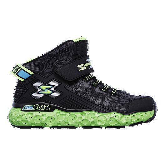0e8e5ae5c52 Skechers Kids  Cosmic Foam Shoes - Black Green