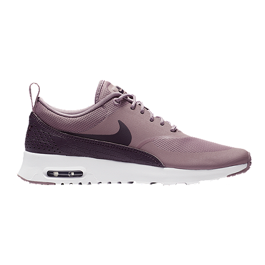 best sneakers 54a7c dc3fc Nike Women s Air Max Thea Shoes - Taupe Grey Port Wine - GRAY