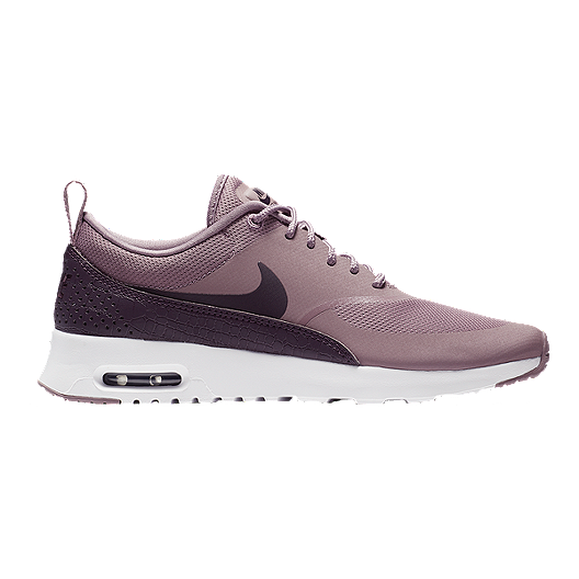 722c43e695 Nike Women's Air Max Thea Shoes - Taupe Grey/Port Wine | Sport Chek