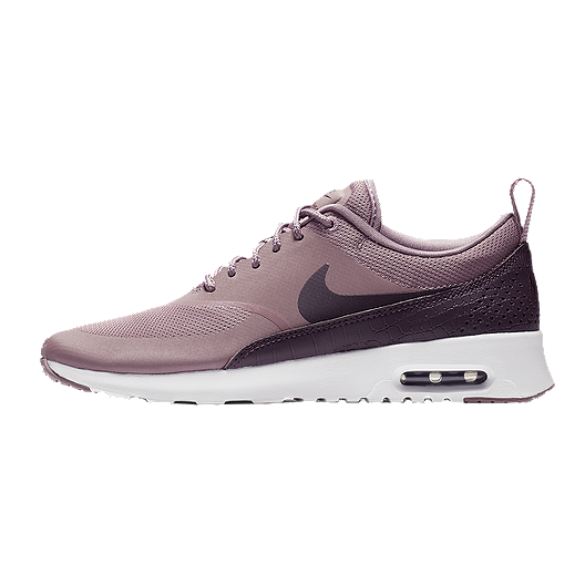 Nike Women's Air Max Thea Shoes Taupe GreyPort Wine