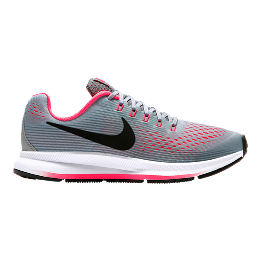 new product c74d1 d00b1 Nike Girls' Zoom Pegasus 34 Grade School Shoes - Shield