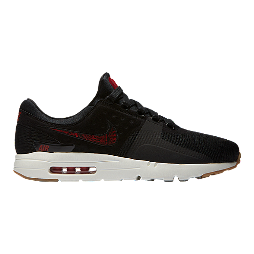 8175aa8a15 Nike Men's N7 Air Max Zero Shoes - Black/Red/Gum   Sport Chek