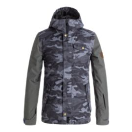 Quiksilver Boys' Ridge Insulated Winter Jacket