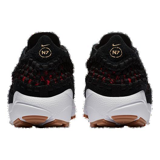 a428544b90 Nike Women's N7 Footscape Woven Shoes - Black/Red/Gum. (0). View Description