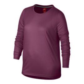 Nike Sportswear Women's Essential Long Sleeve Plus Size Shirt