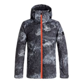 Quiksilver Boys' TR Mission Printed Insulated Snow Jacket
