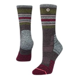 Stance Women's Adventure Plateau Hike Crew Socks