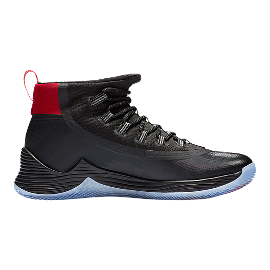 fc4fb1d0103 Nike Men's Jordan Ultra Fly 2 Basketball Shoes - Black/Silver/Red. (2).  View Description