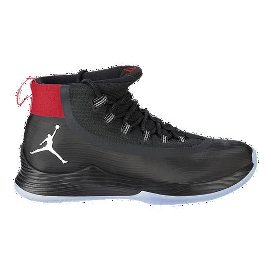 separation shoes ad06f 27c28 Nike Men s Jordan Ultra Fly 2 Basketball Shoes - Black Silver Red. (2).  View Description
