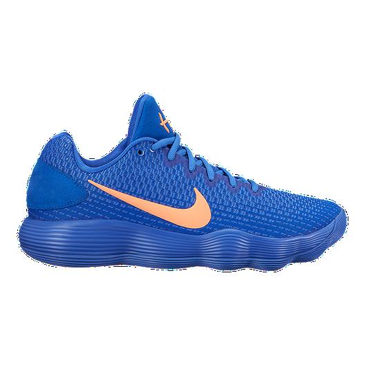 d4a553099700 Nike Men s Hyperdunk 2017 Low Basketball Shoes - Blue Orange