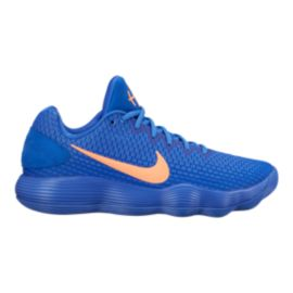 Nike Men's Hyperdunk 2017 Low Basketball Shoes - Blue/Orange
