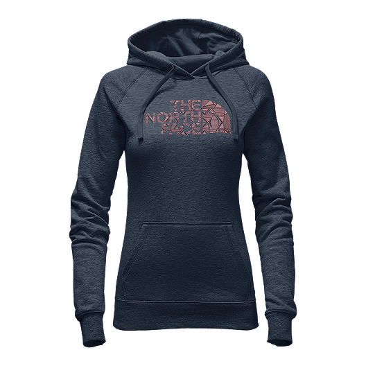 2fde02aad The North Face Women's Patterned Half Dome Hoodie - Ink Blue   Sport ...
