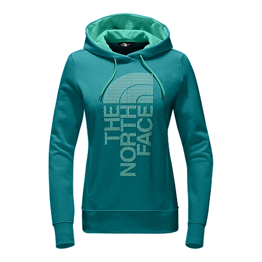 9264f7307 The North Face Women's Trivert Pullover Hoodie - Harbor Blue | Sport ...