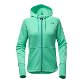 The North Face Women's EZ Full Zip Hoodie - Bermuda Green