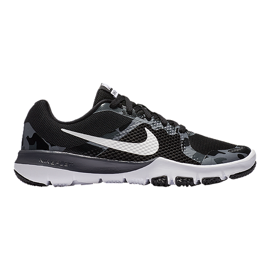 44ed01b3b699 Nike Kids  Flex TR Control RW Grade School Shoes - Black White ...