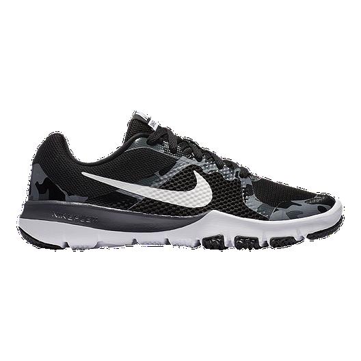 5517c705de2b Nike Kids  Flex TR Control RW Grade School Shoes - Black White ...