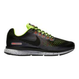 b31c03a036b5 Nike Kids  Zoom Pegasus 34 Grade School Shoes - Black Volt Grey ...