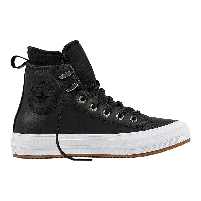 b4ed5a47302b Converse Women s Chuck Taylor All Star Waterproof Leather Boots - Black