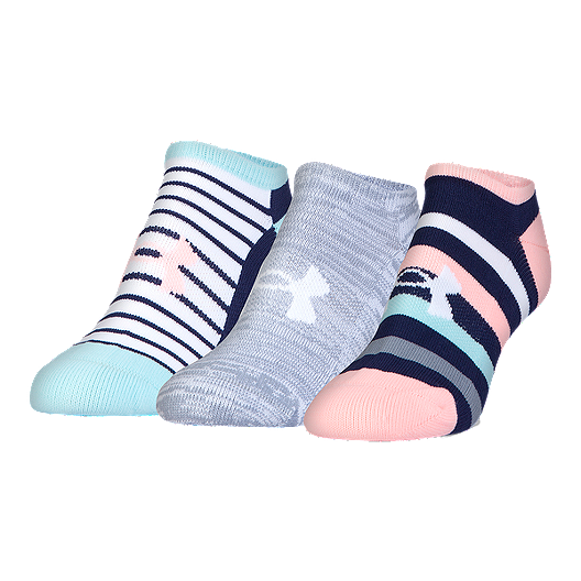 75997255b Under Armour Women's Solo Athletic Solo No Show Socks 3 - Pack | Sport Chek