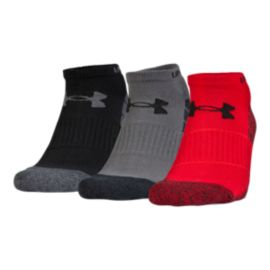 Under Armour Men's Elevated Performance No Show Socks 3 - Pack