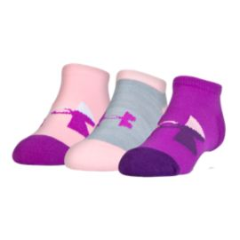 Under Armour Girls' Next Statement No Show Socks