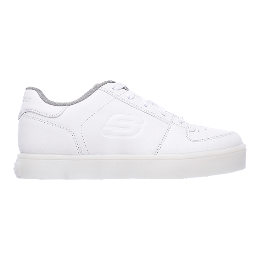 premium selection e708b 9e749 Skechers Girls  Energy Lights Lo Shoes - White White   Sport Chek