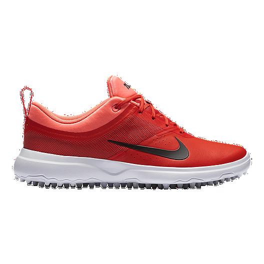 6abfecd17d Nike Women's Akamai Golf Shoes - Max Orange/Lava   Sport Chek
