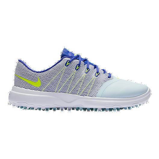 4ca8ca54155ab Nike Women's Lunar Empress 2 Golf Shoes - Glacier Blue/Volt | Sport Chek