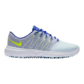 Nike Women's Lunar Empress 2 Golf Shoes - Glacier Blue/Volt