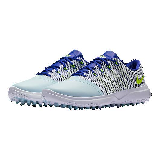 43346f9c2db7 Nike Women s Lunar Empress 2 Golf Shoes - Glacier Blue Volt. (1). View  Description