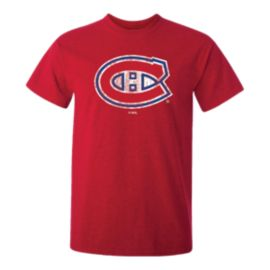 Montreal Canadiens Kids' Washed Big Logo T Shirt