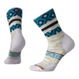 Smartwool Women's PhD Outdoor Light Print Mid Crew Socks