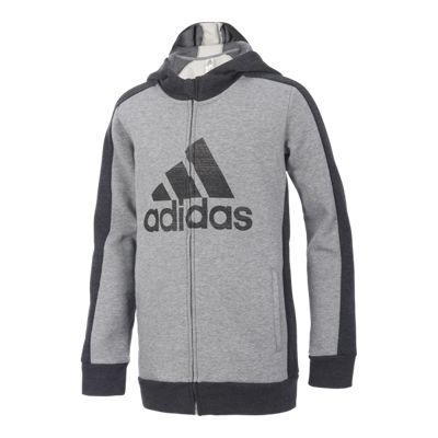 adidas Boys' Athletics Full Zip Hoodie