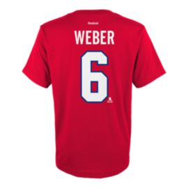 Montreal Canadiens Kids' Shea Weber Player T Shirt