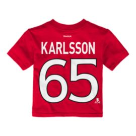 Ottawa Senators Baby Erik Karlsson Player T Shirt