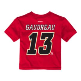 Calgary Flames Baby Johnny Gaudreau Player T Shirt
