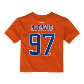 Edmonton Oilers Baby Connor McDavid Player T Shirt