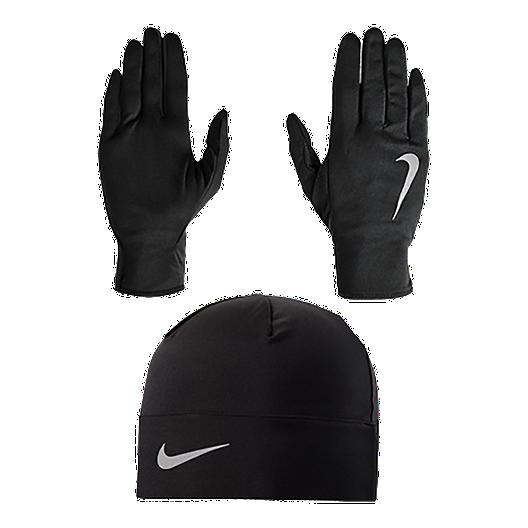 867e058766f Nike Men s Run Hat and Glove Set