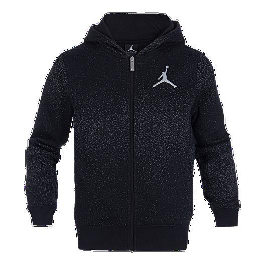 6e45c285ca192a Nike Jordan Boys  Flight Fleece SP Full Zip Hoodie