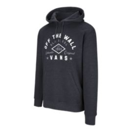 Vans Men's Diamond Lockup Pullover Hoodie - Black