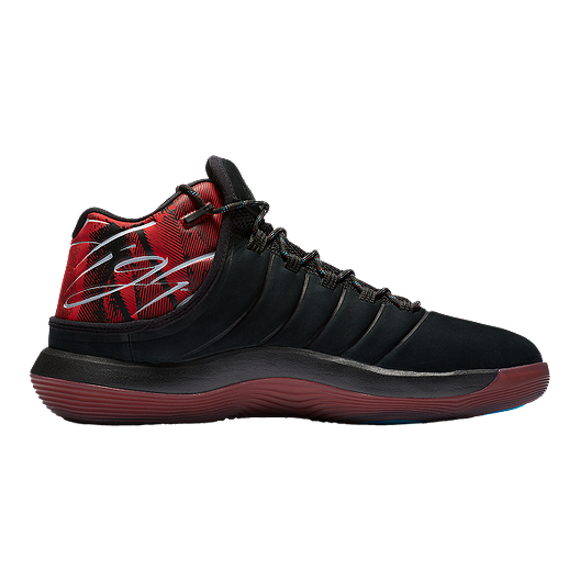 2bd6c7f4f112 Nike Men s Jordan Super.Fly 2017 N7 Basketball Shoes - Black Dark Turquoise