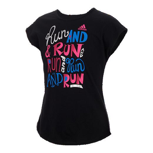 d871d595d2d adidas Girls' 4-6X Heart and Hustle T Shirt | Sport Chek