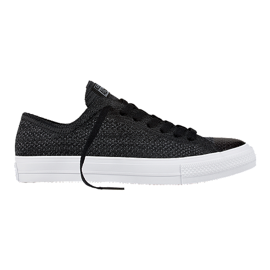 bc4ed0b64f2e6 Converse Men s Chuck Taylor All Star X Nike Flyknit Ox Shoes -  Black Anthracite