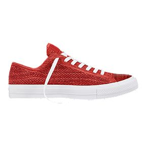 29394d507300 Converse Men s Chuck Taylor All Star X Nike Flyknit Ox Shoes - Red